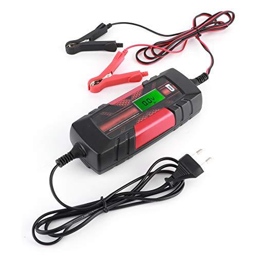 Ladieshow Smart Batterieladegerät Elektronische Wartung Auto Motorrad 6-12V IP65 Wasserdicht 110-240V