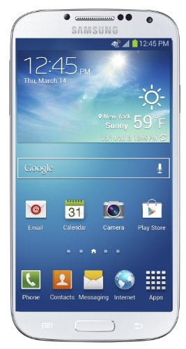 Samsung Galaxy S4, White Frost 16GB (AT&T)