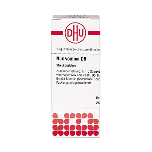 DHU Nux vomica D6 Streukügelchen, 10 g Globuli