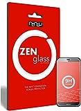ZenGlass Nandu I (2 Unidades) Protector de Vidrio Flexible Compatible con Huawei G8 I Protector de Pantalla 9H I (más pequeño Que la Pantalla Curva)