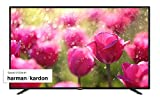 Sharp Aquos 40BJ3E - 40' Smart TV 4K Ultra HD, HDR Slim, Wi-Fi, DVB-T2/S2, 3840 x 2160 Pixels, Nero, suono Harman Kardon, 3xHDMI 2xUSB, 2020 [Classe di efficienza energetica A]