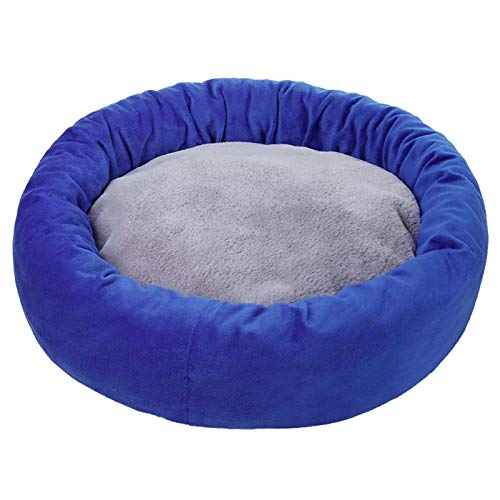 Fugift Super Soft Dog Bed Cat Mat House Round Cushion Improved Sleep for Small Medium Dogs Pet Sleeping Accessories