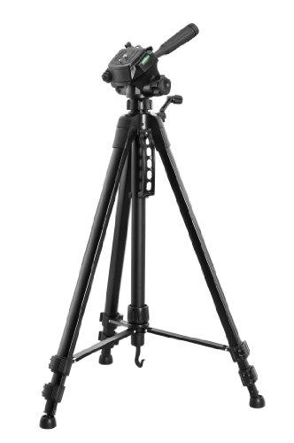 Vivanco WT 3570 - Cavalletto per fotocamera e videocamera, custodia inclusa, colore: Nero
