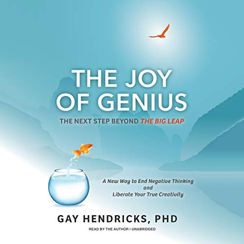 The Joy of Genius     The Next Step beyond The Big Leap              Written by:                                                                                                                                 Gay Hendricks PhD                               Narrated by:                                                                                                                                 Gay Hendricks PhD                      Length: 2 hrs and 45 mins     2 ratings     Overall 5.0
