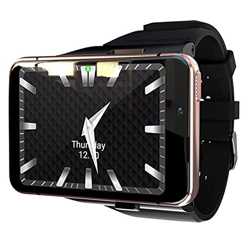 Ake 4G Smart Watch Android 9.0 Wrist Watch Wear Wear OS 4GB64GB Monitor De Ritmo Cardíaco Smartwatch,C