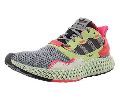 adidas Mens Zx 4000 4D Grey/High Res Yellow Bd7927 Size - 9
