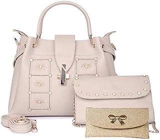 Nevis Set Of 3 Women Stchel/Crossbody bag (Pack of 3)