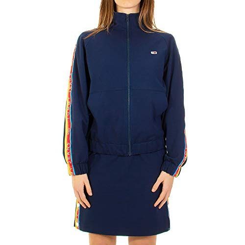 Tommy Jeans Chaqueta Tracksuit Marino Mujer