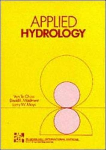 Applied Hydrology (Civil Engineering)