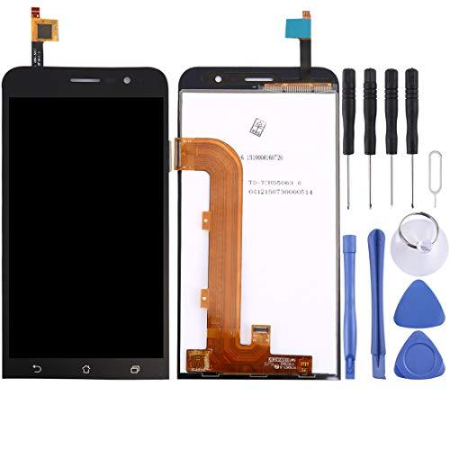 Mingxian Pantalla LCD y digitalizador Asamblea Completa for ASUS Zenfone Continuar 5 Pulgadas / ZB500KL (Negro) (Color : Black)