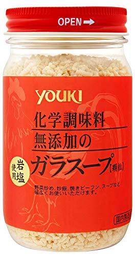 ユウキ食品化学調味料無添加のガラスープ130g×4個
