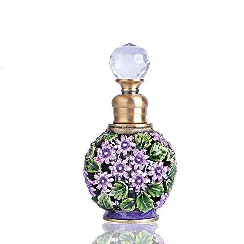 6ml couleur tatouage bouteille d'huile essentielle de haute qualité sous-bouteille bouteille de parfum rétro ornements de décoration de table de toilette en verre cosmétique bouteille d'huile essentie