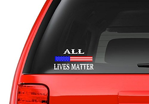 All Lives Matter (M39) USA Vinyl Sticker Car/Truck American Window Decal