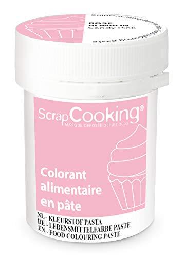 ScrapCooking Colorant en Pâte Rose Bonbon 20 g