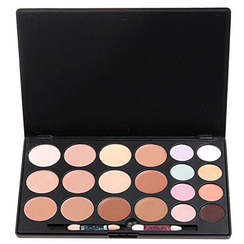 Vodisa 20 Colour Makeup Cream Contour Kit-Camouflage Concealer-Professional Face Corrector Highlighting Palette-Cosmetics Base Foundation Contouring Highlighter Beauty Make up Cream...