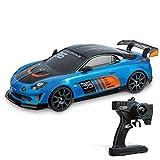 Mondo Motors - Coche teledirigido Renault Alpine GT4 R/C – Modelo a Escala 1/10 – hasta 30 km/h de Velocidad – Drift Action – Coche de Juguete para...