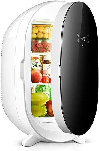 WUAZ 20L Mini Frigorifero con Scomparto Freezer - Table Top Frigo, Controllo della Temperatura E Porta Bagagli per Esterni PIC-Nic, ECC