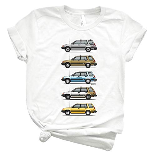 Stack of Mark S Tóýótá Tercel Al25 Wagons 27 Unisex Shirt Men's Shirt Best Vintage Tee for Women Kids Youth