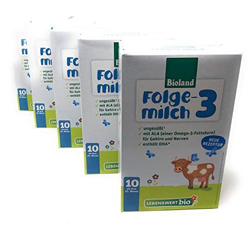 LEBENSWERT Bio Folgemilch (5x475g)