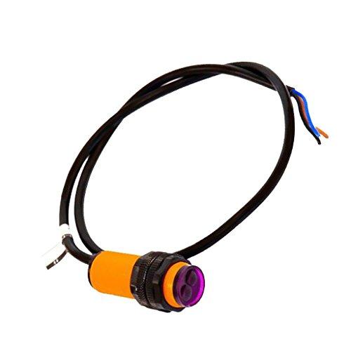 MagiDeal E18-d80nk Sensor Fotoeléctrico Infrarrojo Detector de Evitación de Obstáculos