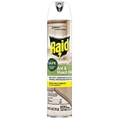 Kills ants, roaches and over 20 household pests Safe for use around kids and pets, when used as direct Kills insects quickly Effective roach and ant killer (22,200) to use indoors, including sensitive areas such as kitchens Made with lemongrass extra...