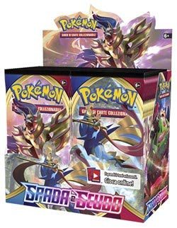 Spada e Scudo - Display 36 Buste Pokémon (IT)