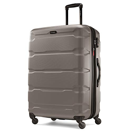 Samsonite Omni PC Hardside Expandable Luggage with Spinner Wheels, Silver