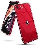 Ringke Fusion Diseñado para Funda Apple iPhone SE 2020, Carcasa iPhone 8 (4.7') Protección Resistente Impactos TPU + PC Funda para iPhone SE 2020, iPhone 8 - Clear