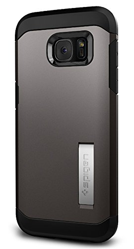 Spigen Tough Armor Designed for Samsung Galaxy S7 Edge Case (2016) - Gunmetal