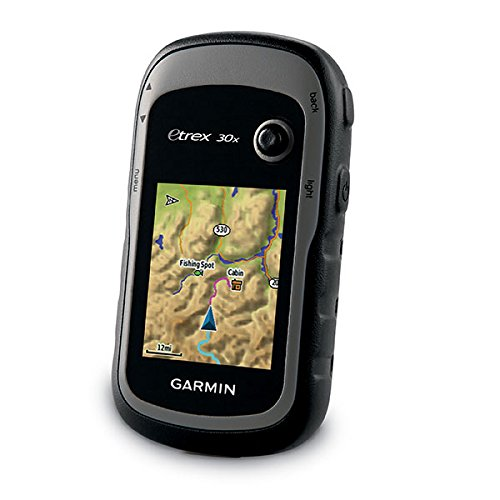 Garmin eTrex 30x, Handheld GPS Navigator with 3-axis Compass, Enhanced Memory and Resolution, 2.2-inch Color Display, Water Resistant