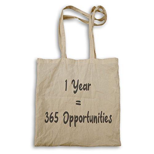 1 Año 365 Oportunidades bolso de mano s652r