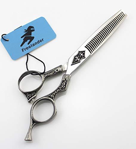 Professionell Haarscheren 6 Zoll Friseurscheren Haarschneideschere Rostfreier Stahl,ToothCut6Inch