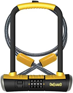 ONGUARD Bulldog Combination U-Lock Cable Combo