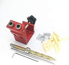 WYBW Pocket Gat Boor Gids Deuvel Jig Schuine Gat Locator Boren Kit Aluminium Houtbewerker DIY Gereedschap met 9Mm Boor Ger...