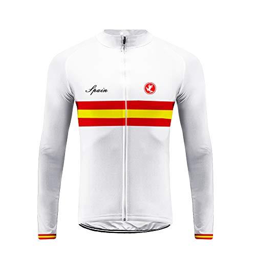 UGLYFROG Bike Wear Designs para Hombre de Manga Larga Traje Ciclismo Hombre Invierno de Bicicleta Carretera Biking Ropa de Montar Sportswear Jacket Camisa de Bicicleta/Bib Long Pant Sets