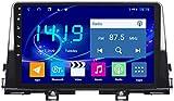 AEBDF Android 9.1 Coche Estéreo Radio GPS Navegación para Kia Picanto 2016-2019 Pantalla táctil Pantalla Sat Nav Car Media Player,4Core WiFi+4G 1+32G