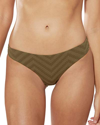 Red Carter Womens Hipster Bikini Bottom, M