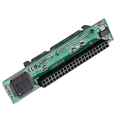 ACAMPTAR 2.5 Pulgadas IDE A Sata Adaptador, Convertir Portátil 44 Pin Macho...