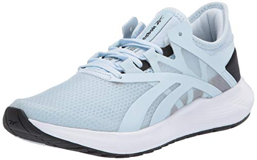 Reebok Women's FLOATRIDE Fuel Run Shoe, Glass Blue/Black/White, 9 M US