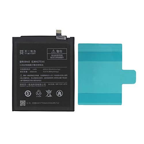[TY BETTERY] Bateria Compatible con BN43 Xiaomi Redmi Note 4X