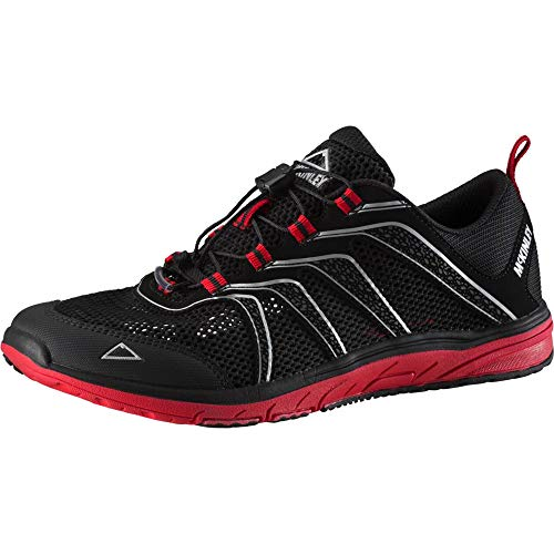 McKINLEY Herren Outdoor-Schuh Amphibio M Cross-Trainer, Schwarz (Black/Red Dark 900), 46 EU