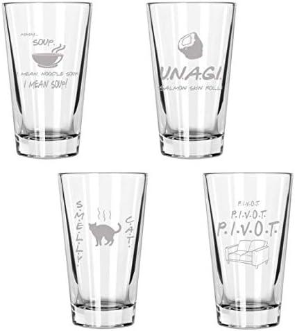 24. Friends Pint Glass Set