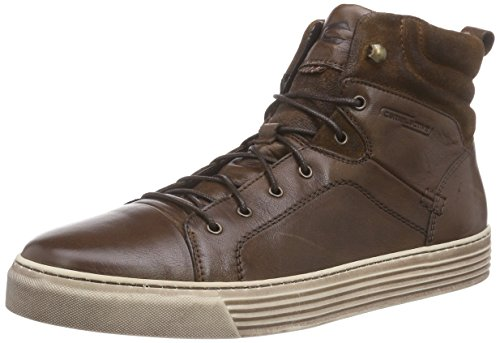 camel active Herren Bowl 12 High-Top, Braun (bison/nut 01), 42.5 EU
