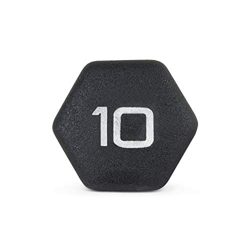 Product Image 6: CAP Barbell Black Neoprene Coated Single Dumbbell, 10 Pound