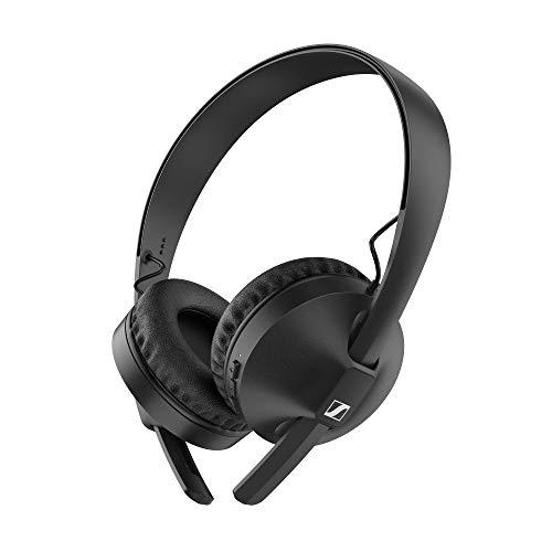 Casque sans fil Bluetooth 5.0 Sennheiser HD 250BT avec AAC, aptX™, aptX™ Low Latency, technologie de transducteur et microphone intégré - durée de vie de la batterie de 25 heures, charge rapide