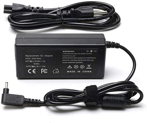 65W AC Adapter Laptop Charger for Acer Aspire A515-54 R5-571T R5-571TG V3-372T R7-371T A115-31 R5-471T V3-372 Swift SF314-52 SF314-51 SF113-31 Spin SP111-32N SP513-52N Power Laptop Adapter Supply Cord