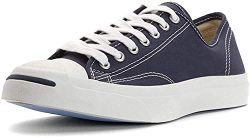 Converse Jack Purcell CP Canvas Low Top, Navy Blue/White, Men's 3.5, Women's 5 Medium