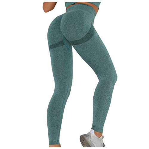 Keepwin Leggins Push Up Mujer Mallas de Deporte de Mujer Pantalones Largos Deportivas Mujeres...