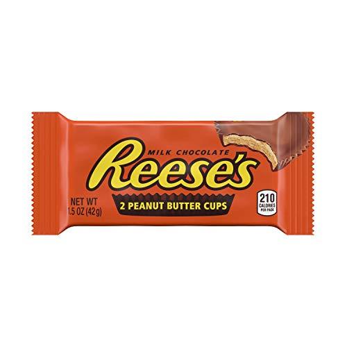 REESE'SPeanut Butter Cup Standard Bar - Erdnussbutter-Cup-Riegel standard: 1 Stück (1 x 42 g)