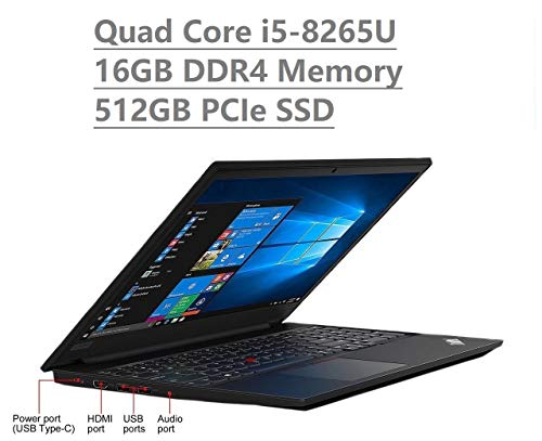 RAM: 16GB DDR4 RAM; Storage: 512GB PCIe NVMe M.2 SSD (Seal is opened for upgrade ONLY, Professional Installation Service included) 15.6-Inch Anti-Glare (1366x768) Display with Front Facing HD Webcam   Integrated Intel UHD Graphics 620 - Supports exte...